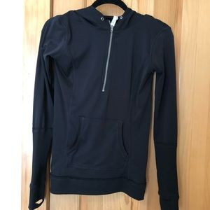 Free People athletic quarter zip